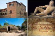 Riapre il Sito Unesco di Cerveteri e Tarquinia. Le Necropoli ed i Musei tornano fruibili dal 12 Giugno per uno Stress Test, seguito da un'apertura stabile ogni Sabato e Domenica
