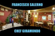Francesco Salerno, giramondo, proprietario e chef della Trattoria dal Maestro a Soverato