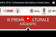 Diretta Streaming Premiazione Sezioni Giornalismo, Poesia, Racconti, Libri inediti - Scrivere Donna Premio ArgenPic 2018