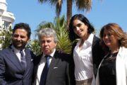 Maria Guardia Pappalardo di Videobank a Cannes 72 per la presentazione del 65° Taormina Film Fest