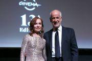 La sempre affascinante e bravissima Isabelle Huppert Premio alla Carriera alla Festa del Cinema di Roma 13