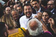 L'intervento di Matteo Salvini all'inaugurazione della Mostra Mercato Macchine Agricole di Tarquinia