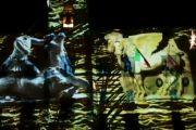 Gli auguri per un 2019 pieno di suggestioni con il Video Mapping dal Palazzo Comunale di Tarquinia