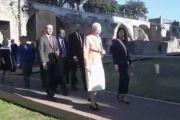 La Regina Margrethe II inaugura a Roma il progetto italo-danese per i nuovi scavi archeologici al Foro di Cesare