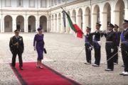 S.M. Margherita II Regina di Danimarca ricevuta al Quirinale dal Presidente della Repubblica Sergio Mattarella