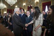 Consegnati dal Presidente Sergio Mattarella gli Attestati d'Onore ai nuovi Alfieri della Repubblica
