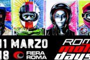 Roma Moto Days 2018, X edizione, anticipazioni in… pillole