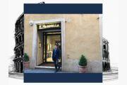 Un anno di vita del negozio romano di Marinella a via di Campo Marzio