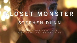 Best Canadian Feature Film goes to Stephen Dunns Closet Monster