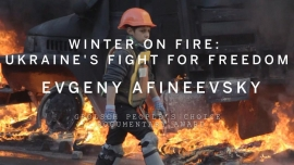 The Grolsch Peoples Choice Documentary Award goes to Evgeny Afineevsky for Winter on Fire Ukraines Fight For Freedom