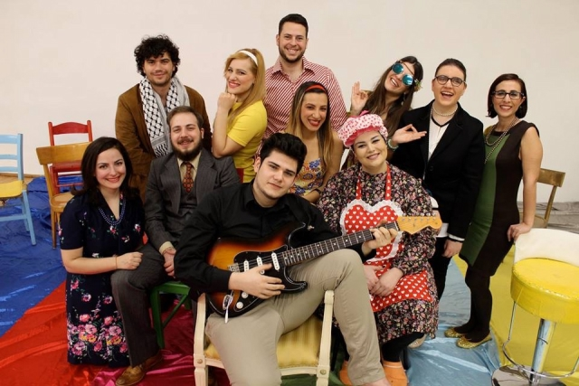 Il Cast di 68 Italian Rock Musical 2018