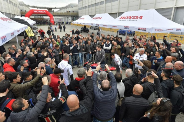 HONDA Freddie Spencer a Roma Moto Days 2018