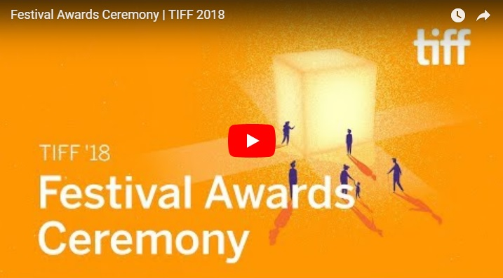 TIFF 18 Festival Awards Ceremony