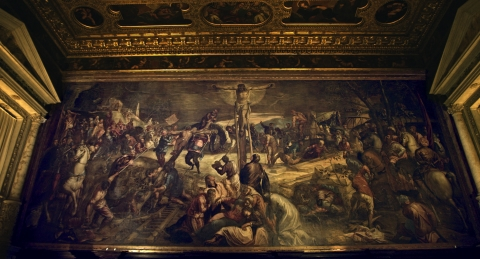 "© Sky Italia s.r.l. – ""Tintoretto - Un Ribelle a Venezia"" courtesy Sky Arts Production Hub"